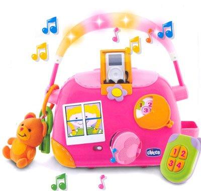 Музыкальная сумочка для девочки Chicco 70680.00
