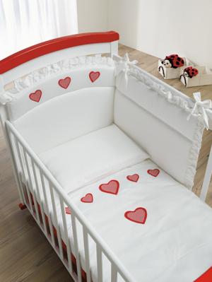 Комплект постельного белья Baby Italia Amore 4 предмета