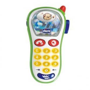 Телефон музыкальный Chicco с фотокамерой