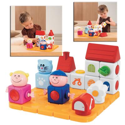 Игрушка Маленький домик Chicco Magic Blocks