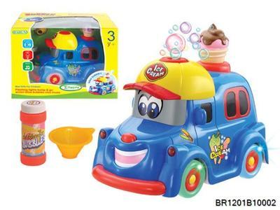Автомобиль Мороженое пускающий мыльные пузыри