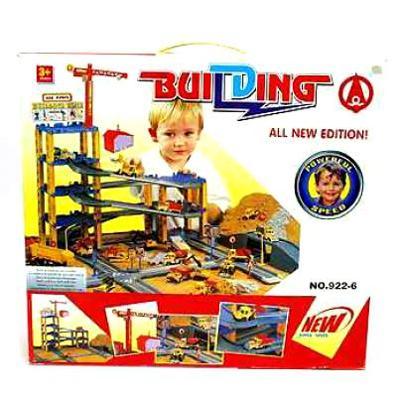 Игровой набор стойплощадка со стороительной техникой арт.922-6